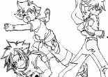 Beyblade Coloriage