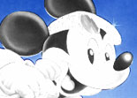 Coloriage de No�l Mickey
