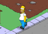 Les Simpson Springfield iPhone