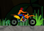 Moto Cross dans la Jungle