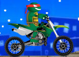 Moto Cross Tortues Ninja 2014