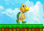 Tortue Cours apr�s Mario