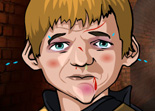 Frapper Tyrion et Joffrey Games of Thrones