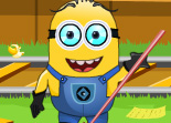 Minion � la Gare de Train