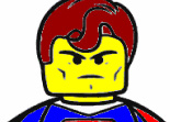 Lego Superman � Colorier