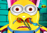 Minion Patient Docteur du Nez