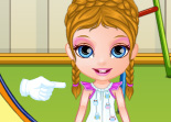 B�b� Barbie Accident de Jeu