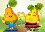 Couple de Fruits � Habiller