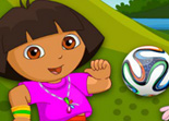 Dora Fan de Foot Habillage