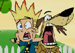 Johnny Test Puzzle Glissant