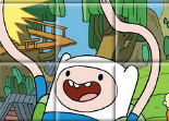 Adventure Time Puzzle Glissant