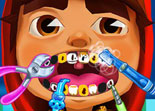 Subway Surfers Blessures aux Dents