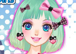 Maquillage Fairy Kei