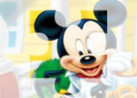 Mickey Mouse Puzzle Tournant